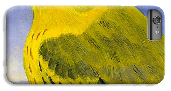 Yellow Warbler IPhone 6 Plus Case by Francois Girard