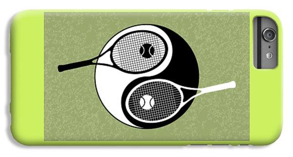Yin Yang Tennis IPhone 6 Plus Case by Carlos Vieira