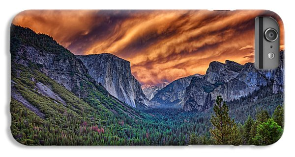 Yosemite Fire IPhone 6 Plus Case by Rick Berk
