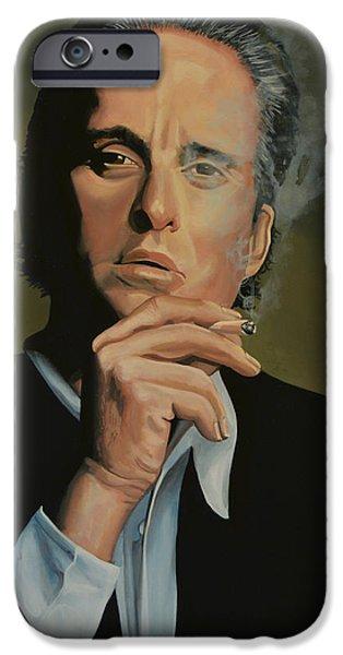 Michael Douglas IPhone Case by Paul Meijering