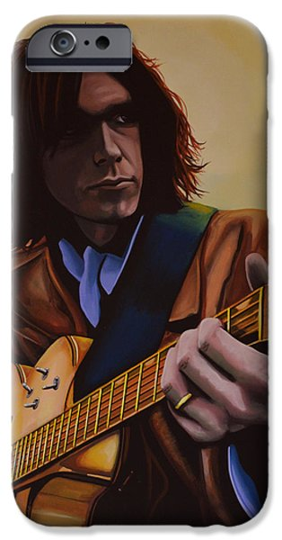 Neil Young Painting IPhone 6s Case by Paul Meijering