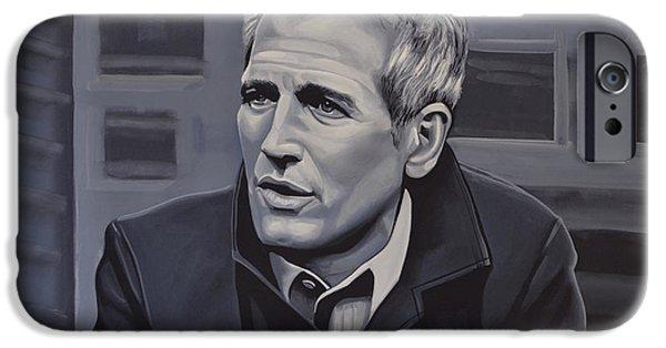 Paul Newman IPhone Case by Paul Meijering
