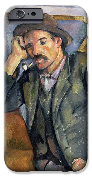 The Smoker IPhone 6s Case by Paul Cezanne
