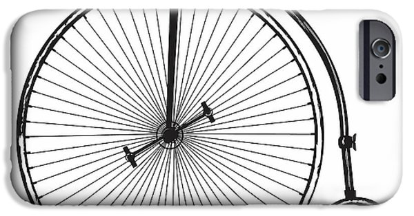 Vintage Bicycle IPhone Case by Marvin Blaine