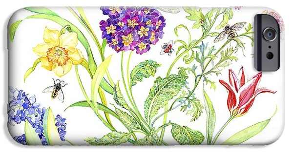 Welcome Spring I IPhone Case by Kimberly McSparran