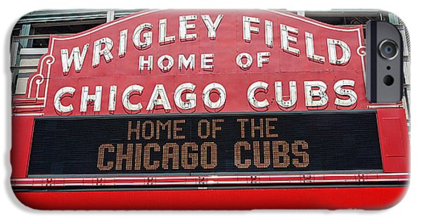 0334 Wrigley Field IPhone Case by Steve Sturgill