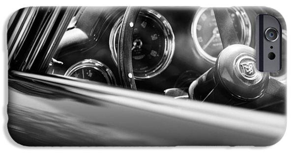 1960 Aston Martin Db4 Series II Steering Wheel IPhone Case by Jill Reger