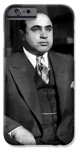 Al Capone - Scarface IPhone Case by Doc Braham