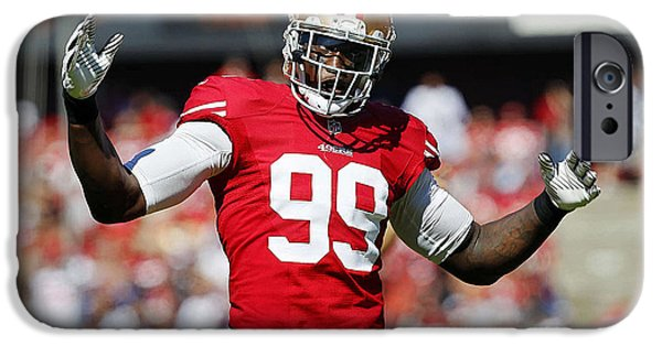 Aldon Smith IPhone 6s Case by Marvin Blaine