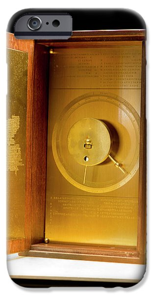 Antikythera Mechanism Model IPhone Case by Louise Murray