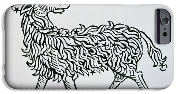 Aries An Illustration From The Poeticon IPhone Case by Italian School