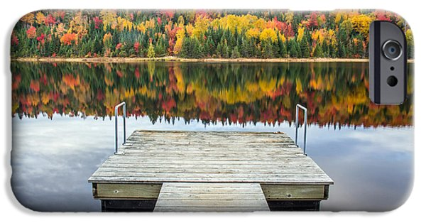 Autumn Reflection IPhone Case by Pierre Leclerc Photography