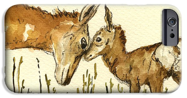 Bambi Deer IPhone 6s Case by Juan  Bosco