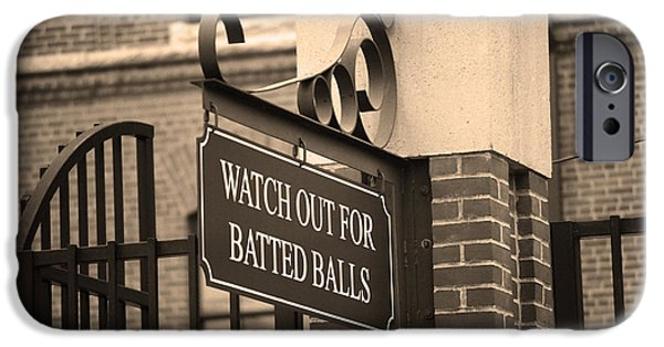 Baseball Warning IPhone 6s Case by Frank Romeo
