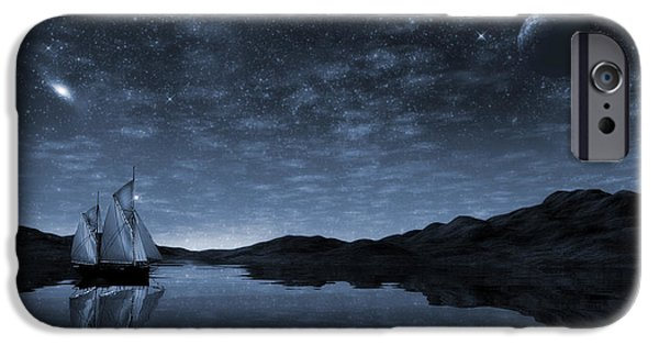 Beneath A Jewelled Sky IPhone Case by John Edwards