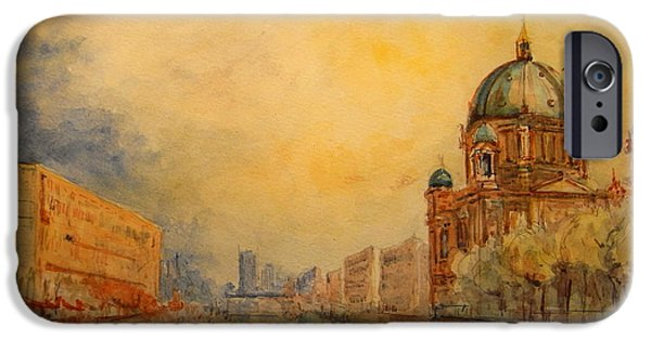 Berlin IPhone 6s Case by Juan  Bosco