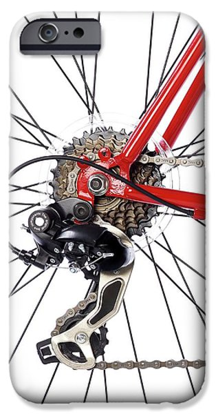 Bicycle Rear Gears IPhone Case by Science Photo Library