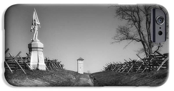 Bloody Lane - Antietam Battlefield IPhone Case by Mountain Dreams