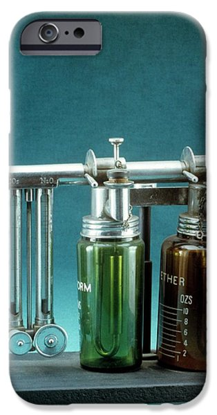 Boyle's Apparatus For General Anaesthesia IPhone Case by Science Photo Library