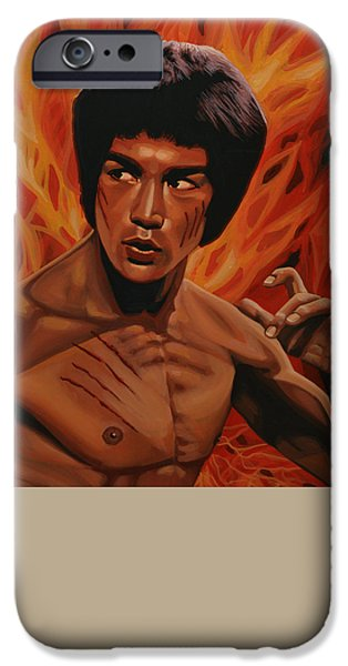 Bruce Lee IPhone 6s Case by Paul Meijering