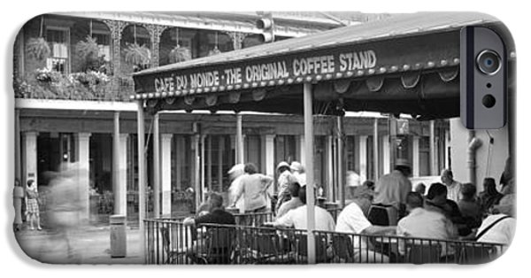 Cafe Du Monde French Quarter New IPhone Case by Panoramic Images