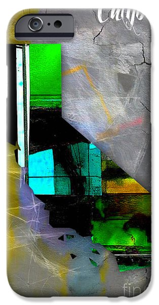 California Map Watercolor IPhone Case by Marvin Blaine