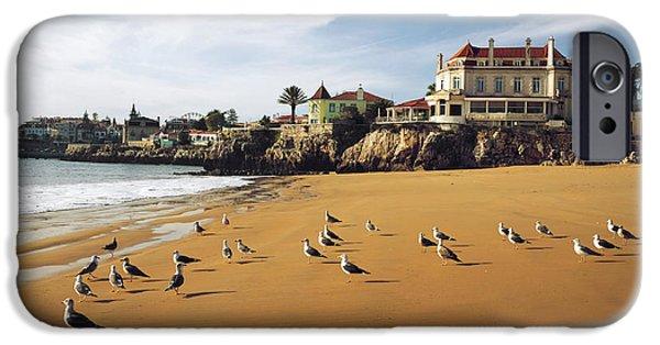 Cascais Seagulls IPhone Case by Carlos Caetano