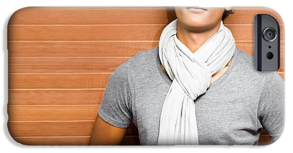 Casual Young Asian Man IPhone Case by Jorgo Photography - Wall Art Gallery