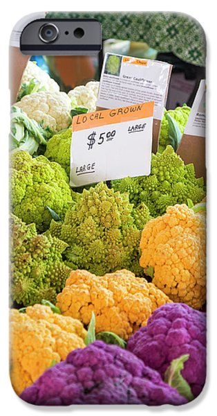 Cauliflower Market Stall IPhone 6s Case by Jim West