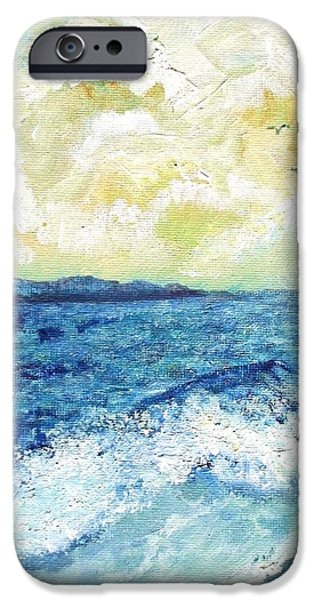Coastal Clouds IPhone Case by Shana Rowe Jackson