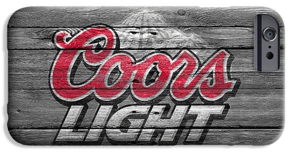 Coors Light IPhone Case by Joe Hamilton