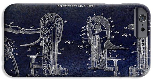 Cork Puller Patent 1899 IPhone Case by Jon Neidert