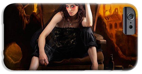 Creative Underground Fashion Photo Illustration IPhone Case by Jorgo Photography - Wall Art Gallery