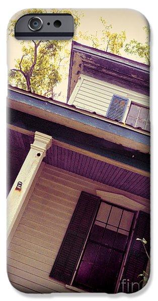 Creepy Old House IPhone Case by Jill Battaglia