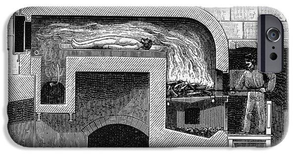 Crematorium Furnace IPhone Case by Bildagentur-online/tschanz
