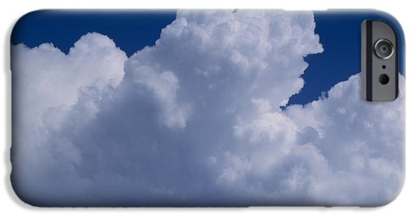 Cumulus Clouds IPhone Case by Panoramic Images