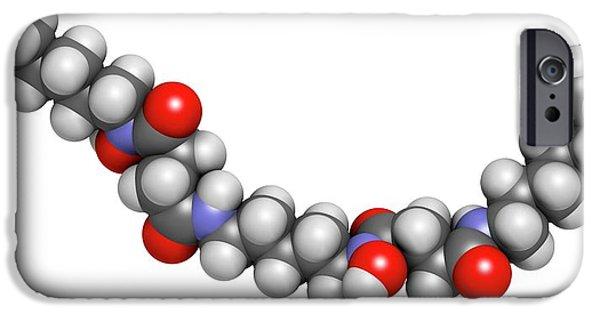 Deferoxamine Drug Molecule IPhone Case by Molekuul