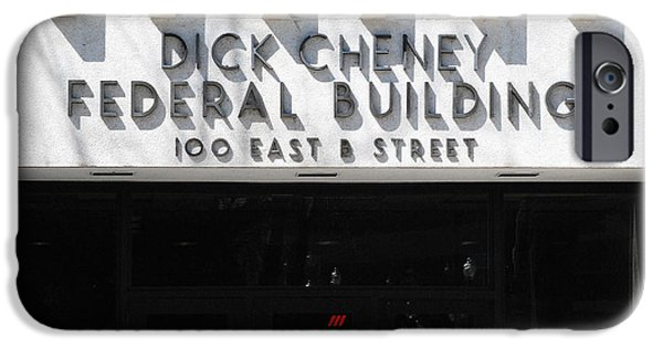 Dick Cheney Federal Bldg. IPhone 6s Case by Oscar Williams
