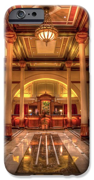 Driskill Hotel Check-in IPhone 6s Case by Tim Stanley