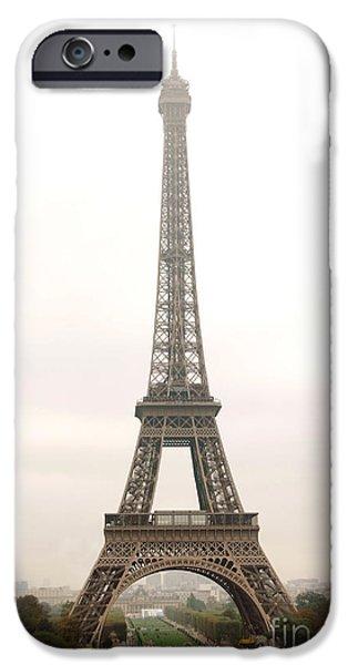 Eiffel Tower IPhone Case by Elena Elisseeva