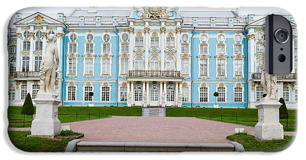 Facade Of A Palace, Tsarskoe Selo IPhone 6s Case by Panoramic Images