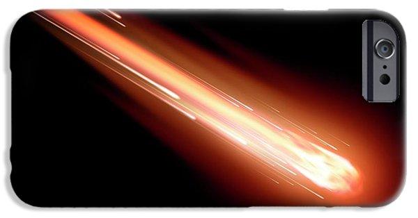 Fireball IPhone Case by Detlev Van Ravenswaay