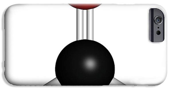 Formaldehyde Molecule IPhone Case by Molekuul