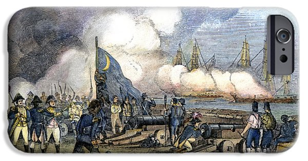 Fort Moultrie Battle, 1776 IPhone Case by Granger