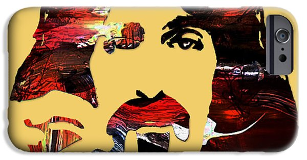 Frank Zappa Collection IPhone Case by Marvin Blaine