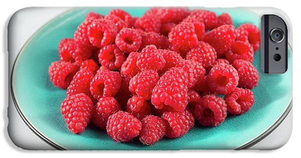 Fresh Raspberries IPhone 6s Case by Aberration Films Ltd