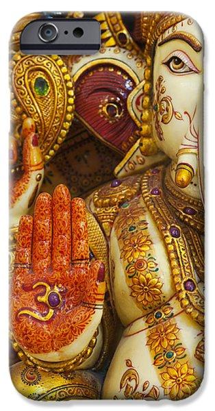 Ornate Ganesha IPhone Case by Tim Gainey
