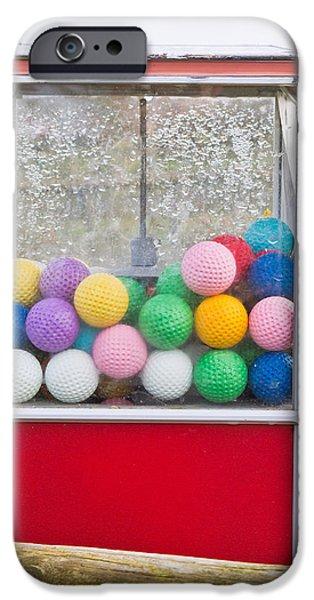 Golf Balls IPhone Case by Tom Gowanlock