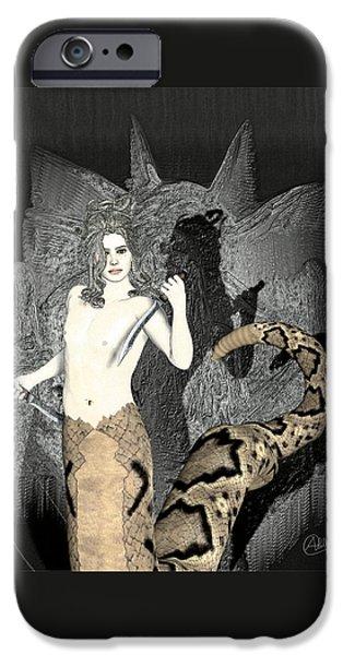 Gorgon Medusa  IPhone 6s Case by Quim Abella