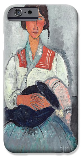 Gypsy Woman With Baby IPhone 6s Case by Amedeo Modigliani